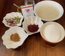Saffron Rice pudding